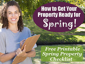 How To Get Your Property Ready for Sprint- Free Spring Property Checklist-Hubspot