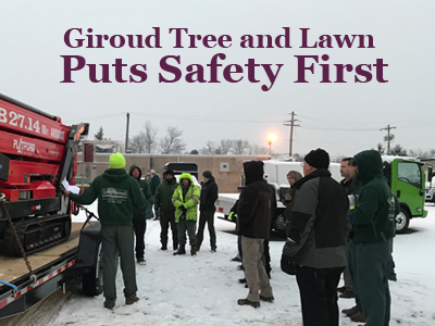 Giroud Tree and Lawn Puts Safety First